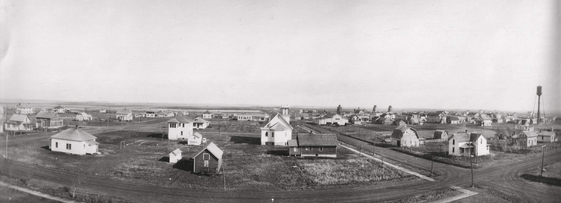 Early day Veblen, South Dakota