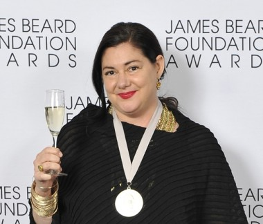Wine Director Cat Silirie at the James Beard Foundation Awards