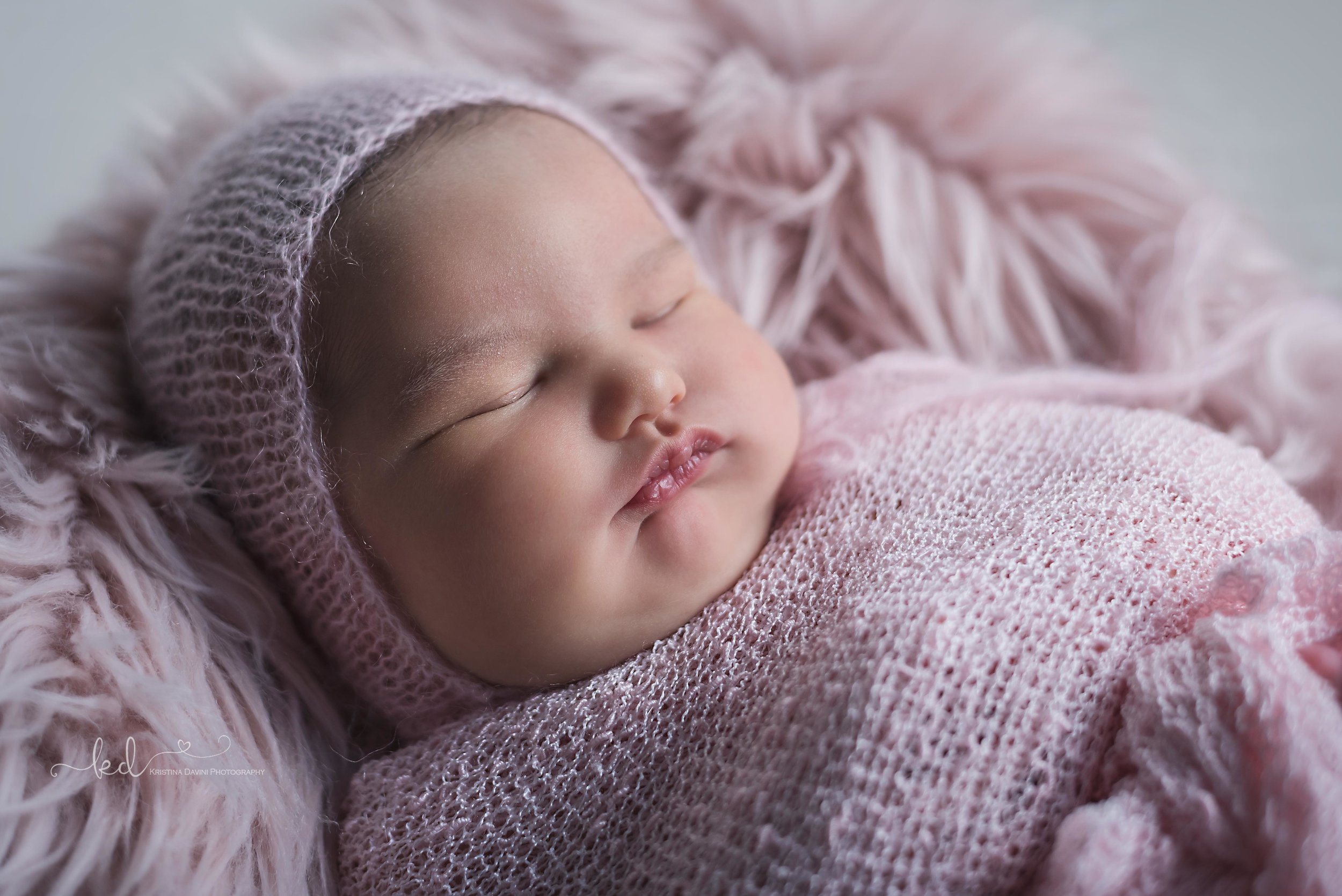 Baby Ekaterina, 7 days old