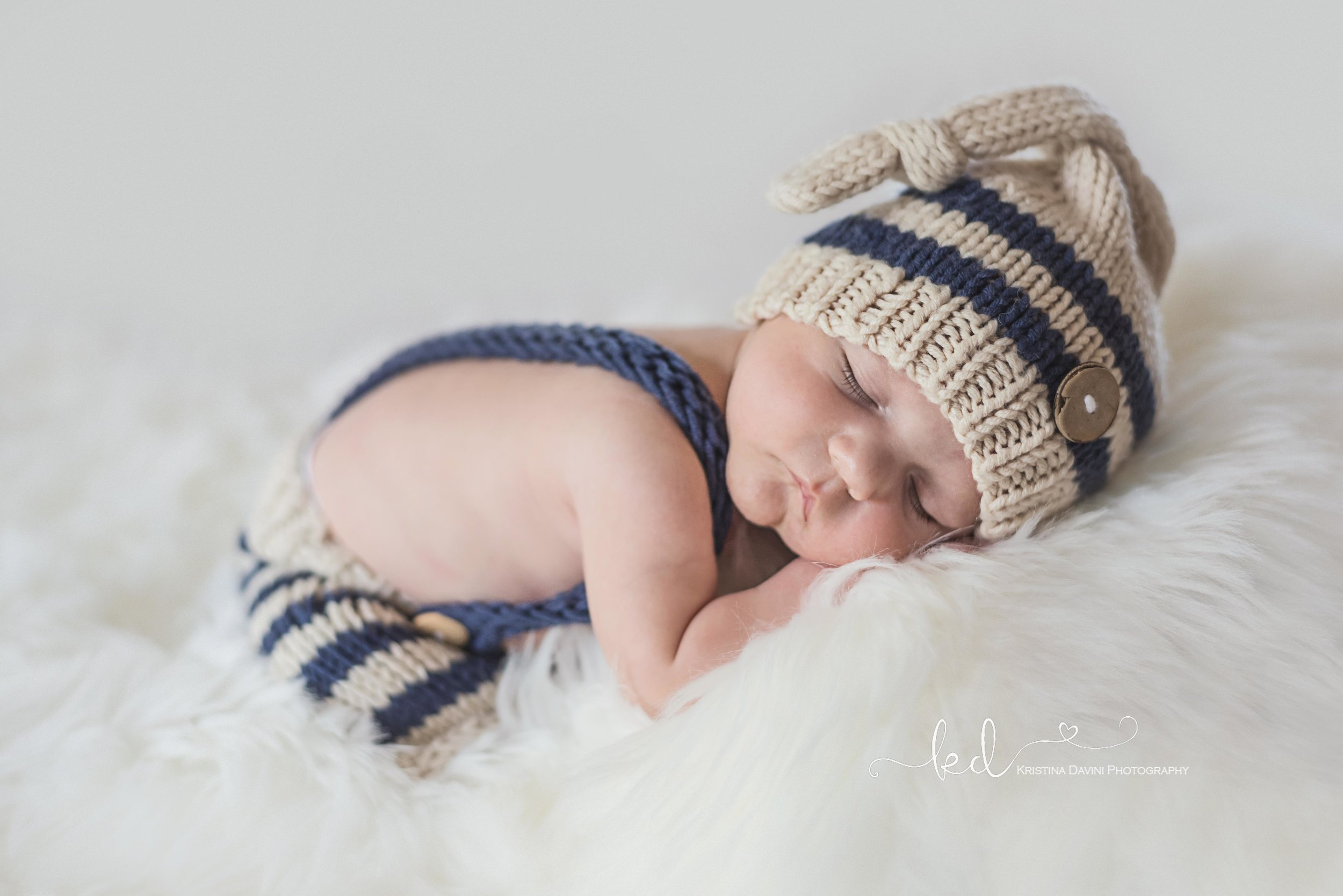 Baby James newborn portraits