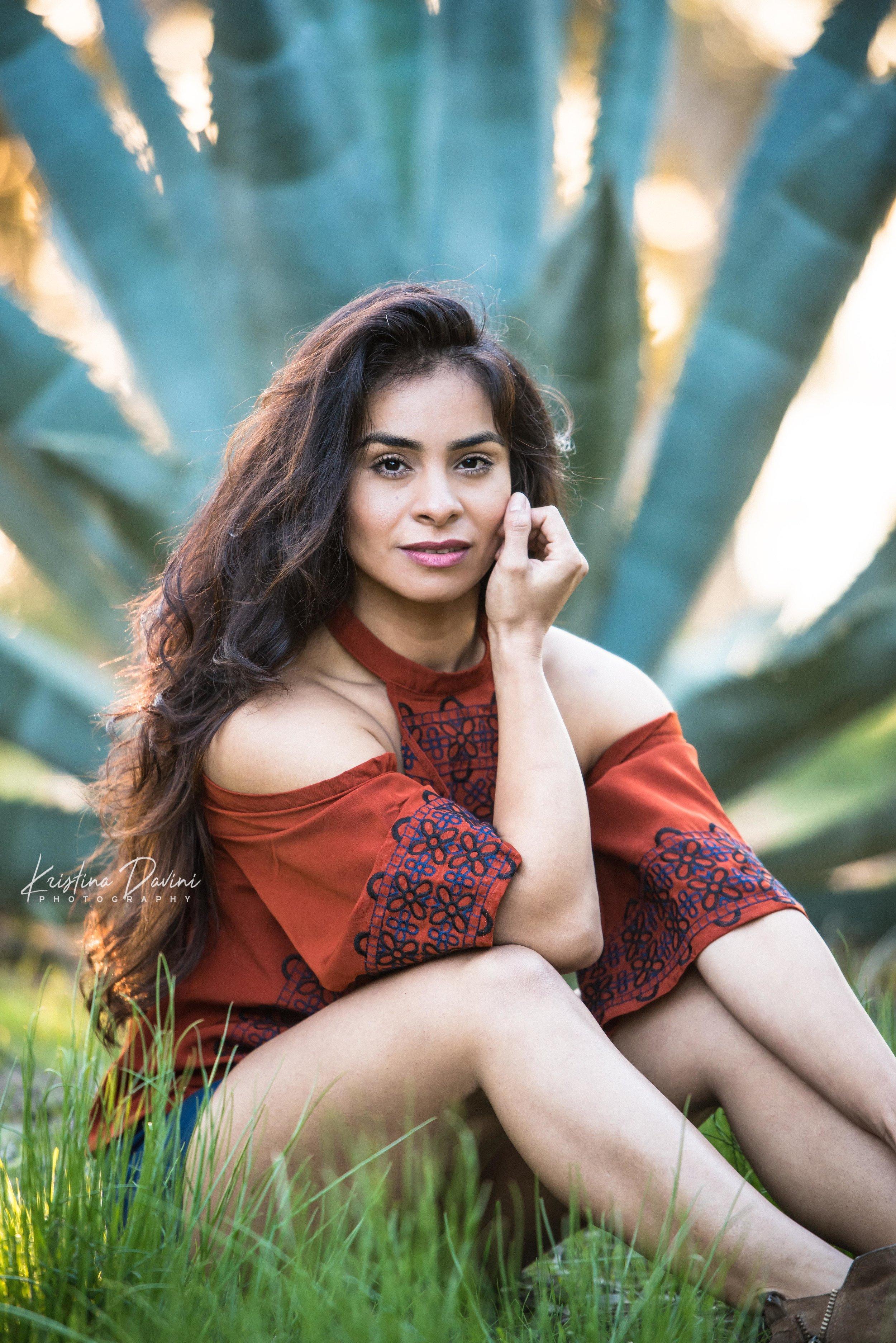 Portrait session with Daniella in La Jolla, CA