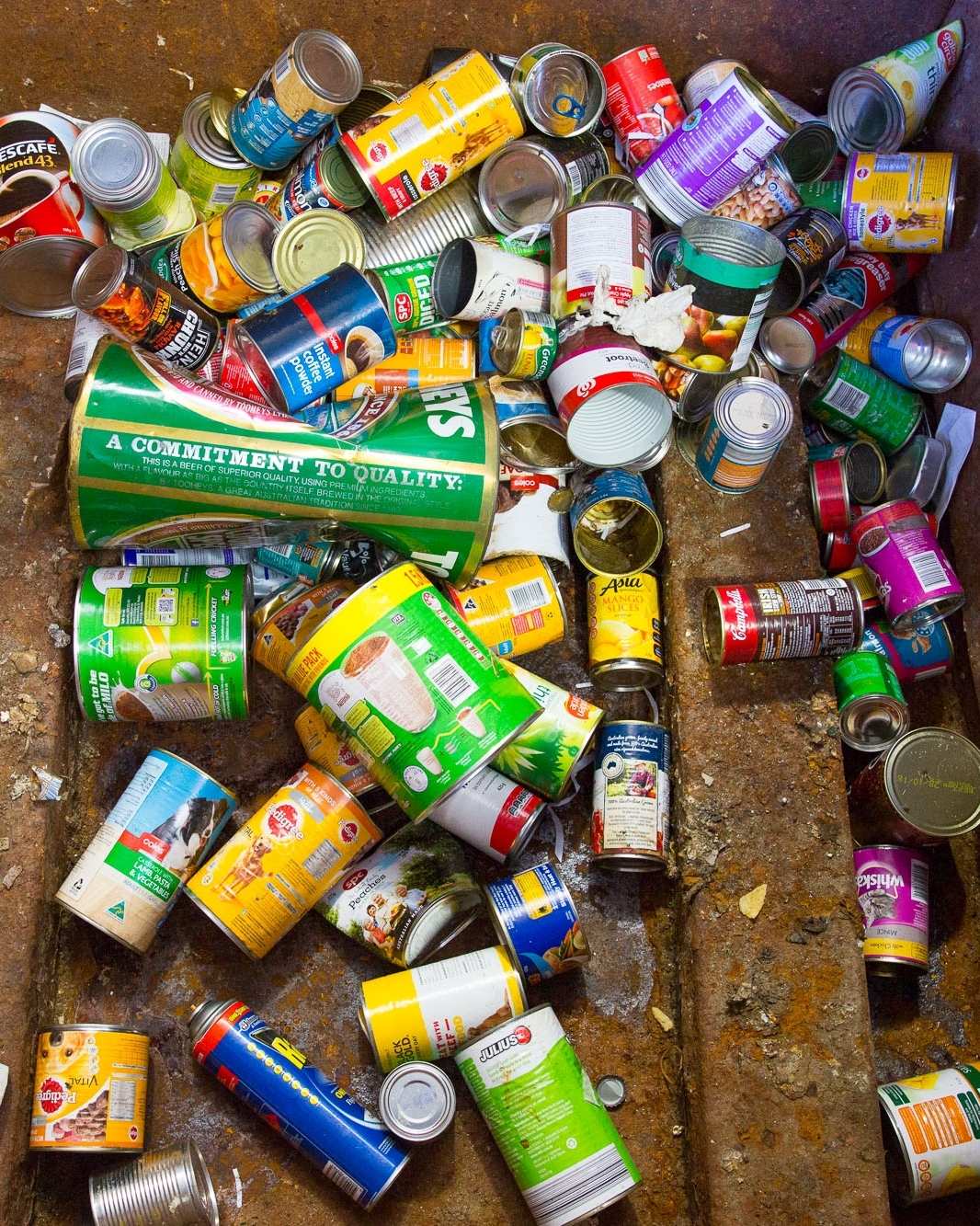 Tin Cans: 100 Years - Again, tin cans are easily recycled. We're talking all your tinned fruit and veg, baked beans and tinned spaghetti, every time you throw them in the wrong bin it's taking a century to break down! Just rinse them out and pop them in the recycle bin.