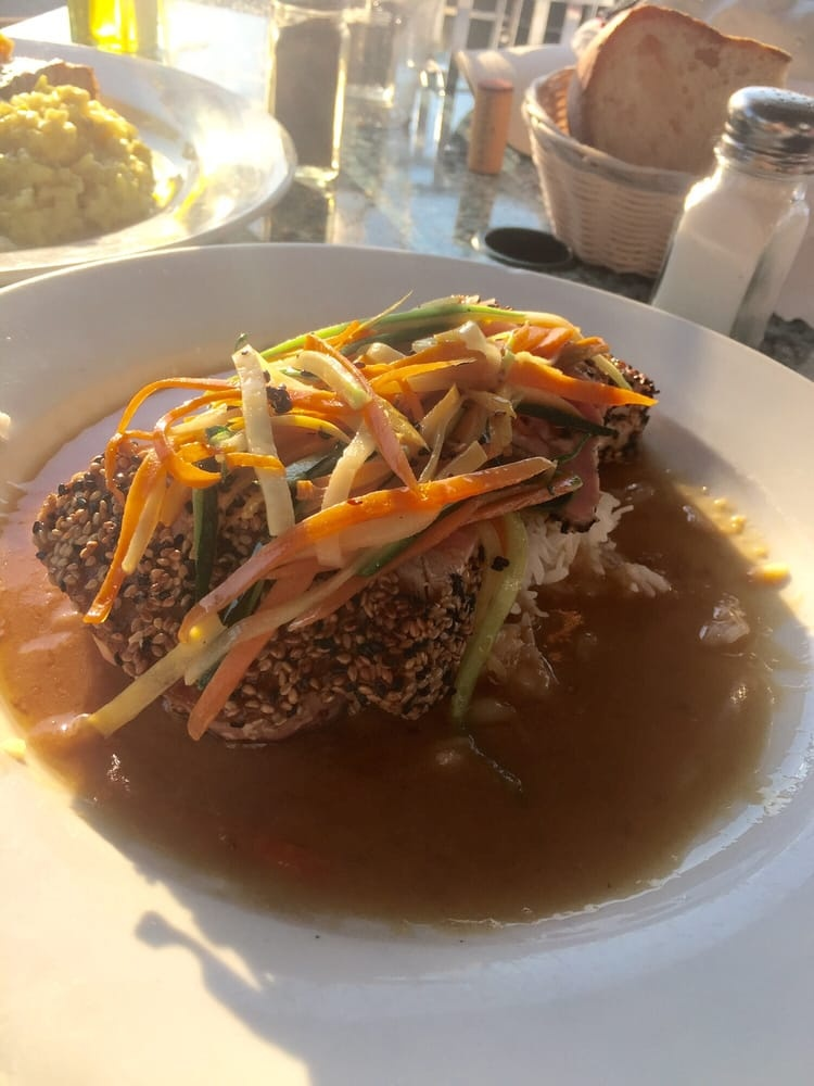 Pepper Crusted Tuna