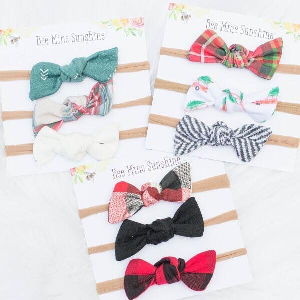 Kids' Fashion - We first saw Bee Mine Sunshine at a barn sale in Ohio. We absolutely love their sweet little handmade bows, head wraps and cute hand picked clothes! They also offer mommy & me clothes, too. Go check out their site to see what cute patterns and prints they have now!