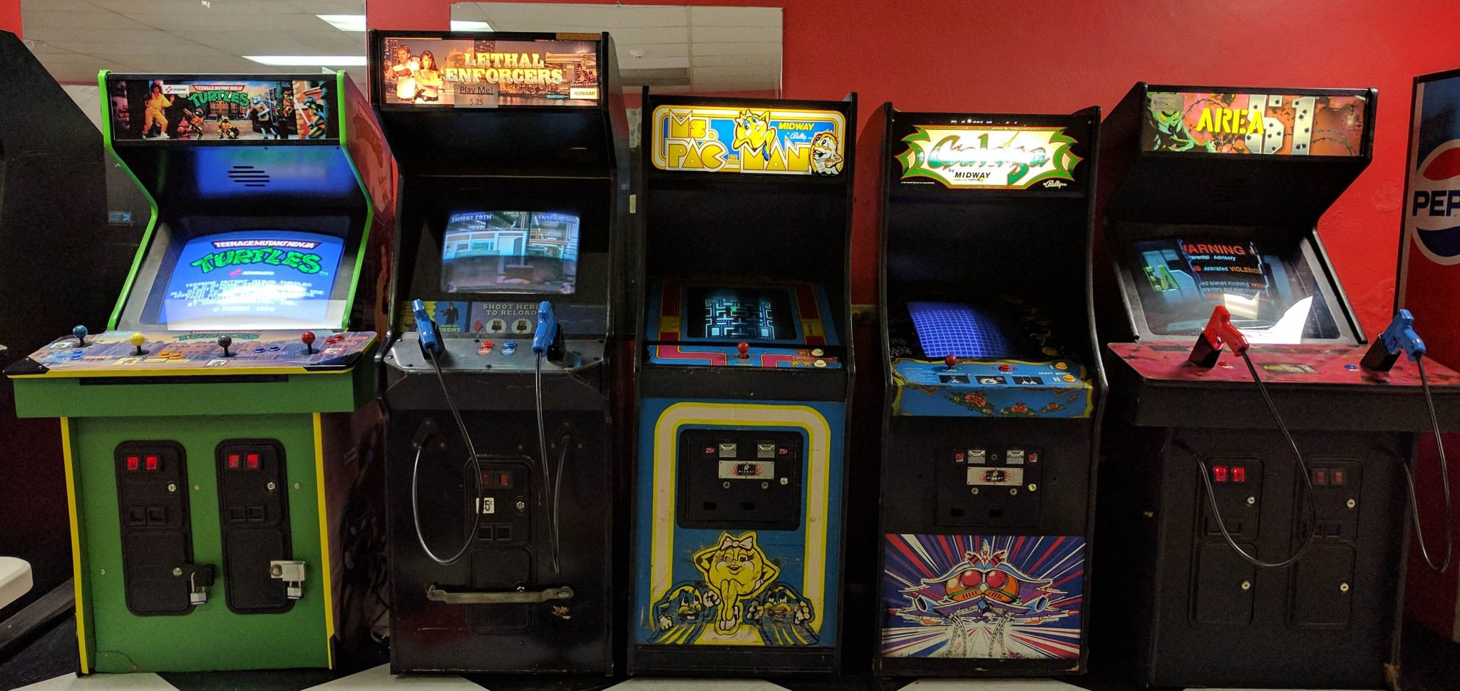 Classic Plastic Toys - Classic Plastics is a local small business that is stocked up with some really neat 70's and 80's new and used toys, video games and more! On the first Saturday of every month they have free arcade game day! Every other day they're just a quarter to play! How cool is that? The kiddos (and admit it, you too) would love that!They are located in the Grand Central Mall so make sure you stop in and check them out sometime. We were there not long ago and picked up a bunch of plastic football helmet toys for a certain little football fanatic in our house. He's going to be so excited when he empties his stocking!