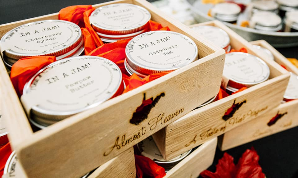 Jams and Jellies - Do you have a foodie to buy for? How about a basket of yummy jellies. You can't go wrong there. These jams are made right here in Parkersburg with locally grown and picked fruits. Here are a few of their current options!Black Raspberry Jam or JellyRed Raspberry JamStrawberry JamElderberry JellyBlueberry JellyCherry Pie Jam or JellyStrawberry Rhubarb JamDamson Plum JamHeirloom Tomato JamWild Ramp JellyYou can purchase these jellies and jams at the Point Park Marketplace, Mother Earth Foods, Crowne Florals and more. Click below to find a location near you!