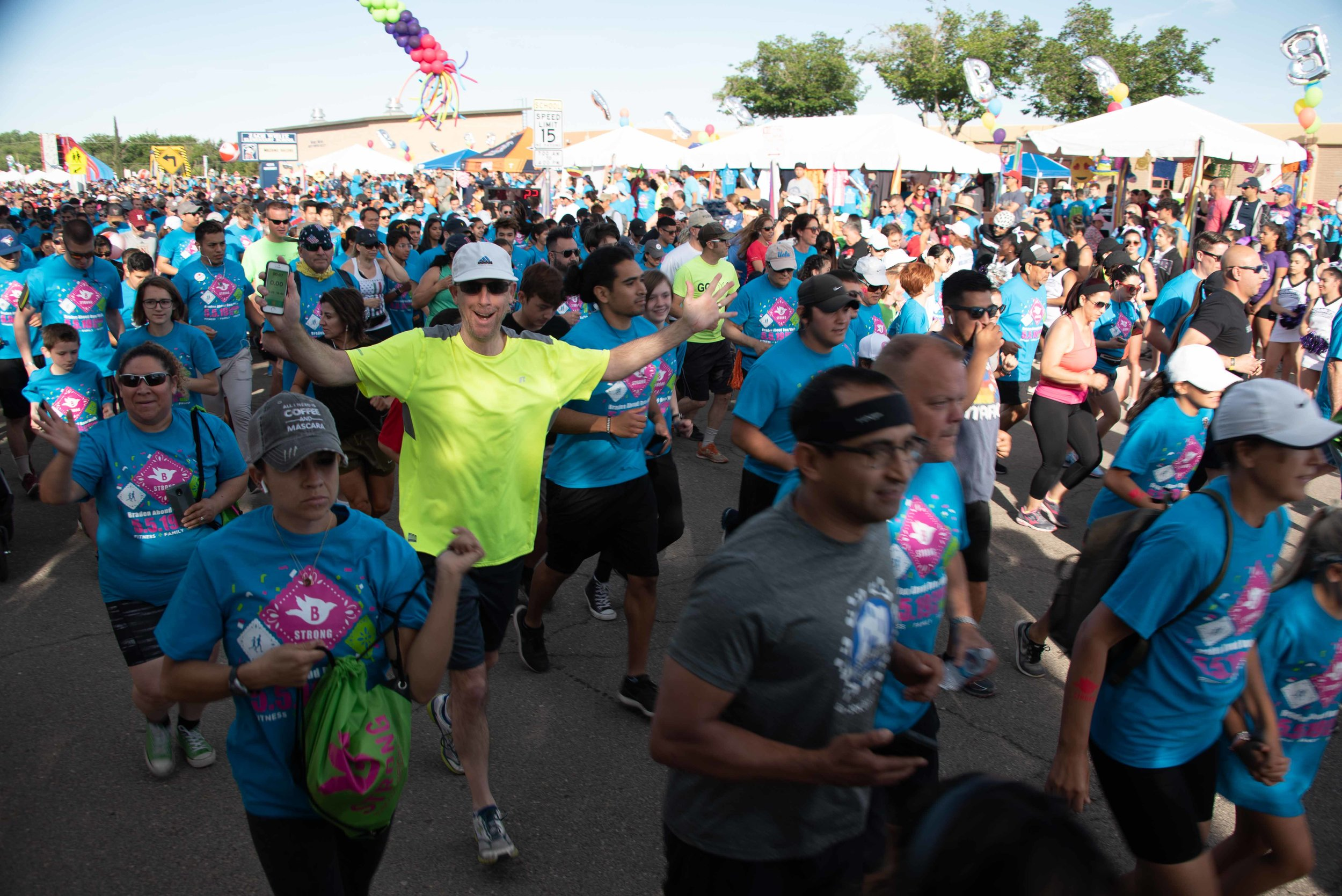 9,700 STRONG - Thank you to all our sponsors, volunteers and participants for making our 13th year bigger and better than ever! Mark your calendars for this year's race, May 3rd, 2020!