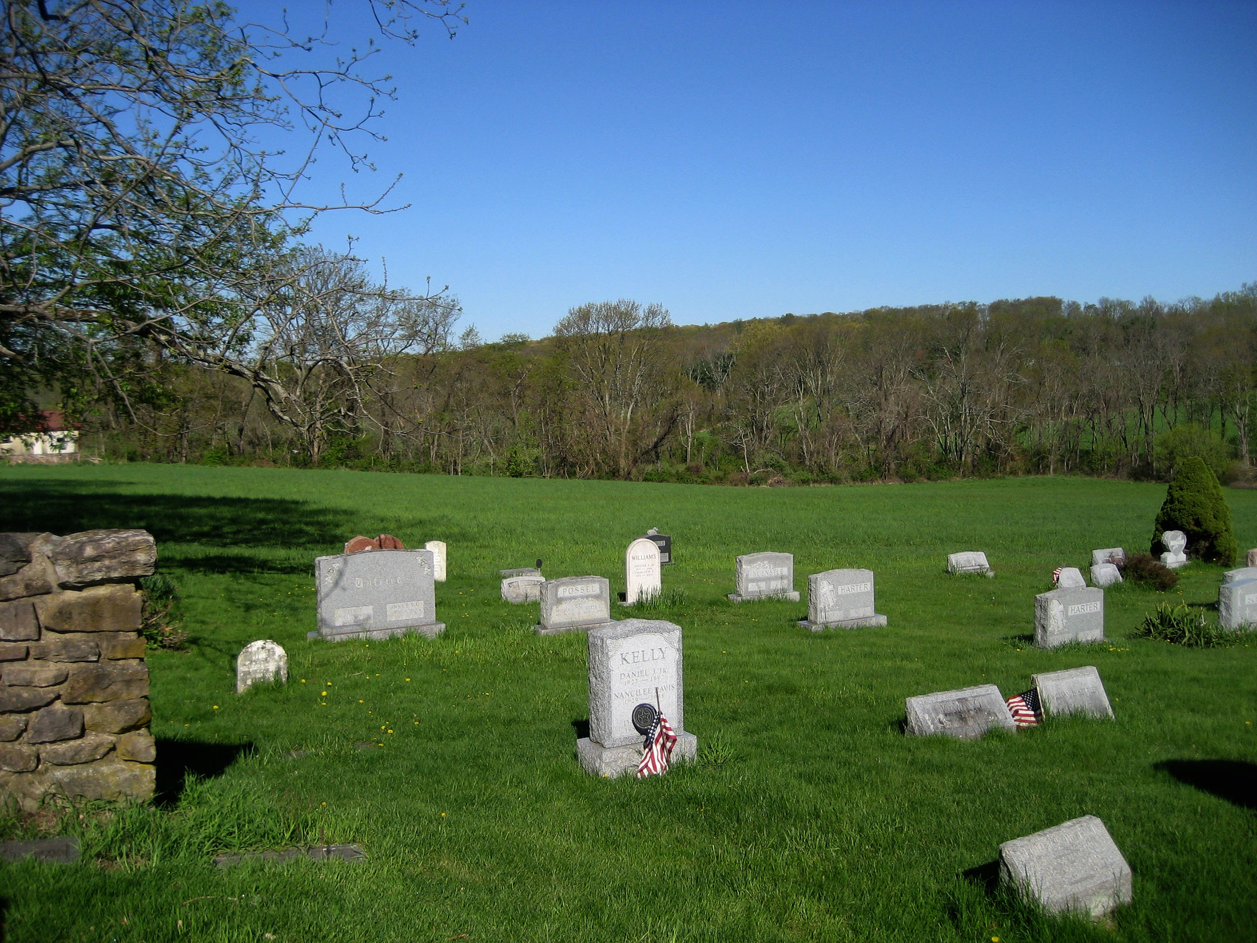 Traditional Burial section