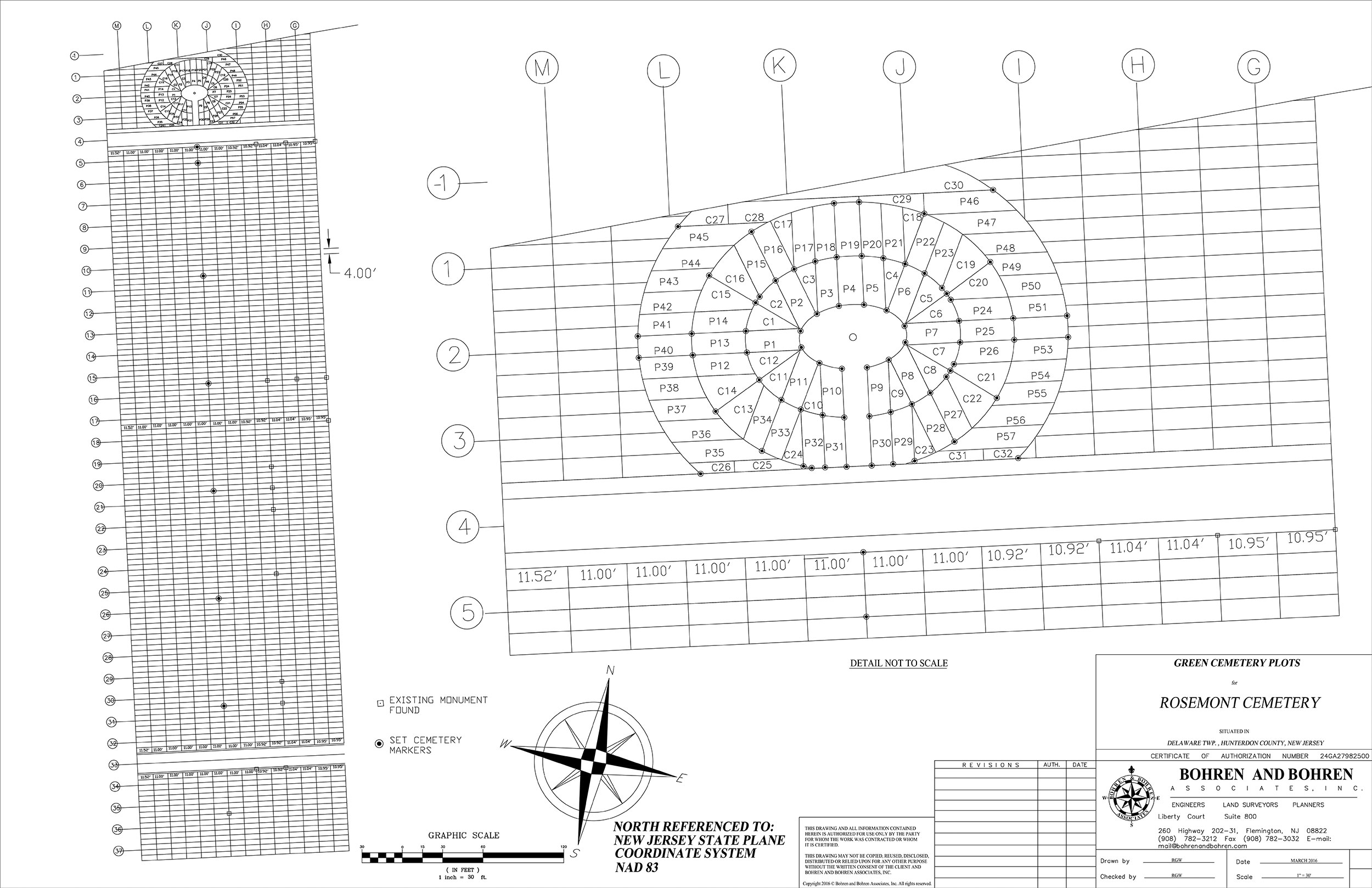 Green Burial Plot Plan