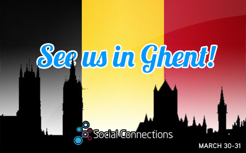 Engage 2015 - Ghent, BELGIUMMarch 20-31, 2015
