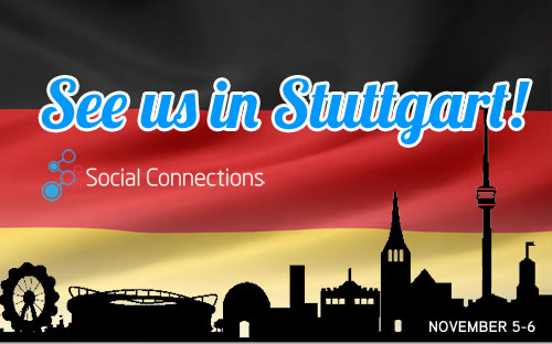 Social Connections 9 - Stuttgart, GERMANYNovember 5-6, 20
