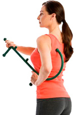 There are several uses for Theracane, Including (but not limited to) trigger point pain, back pain, neck pain, leg pain...basically anywhere you shouldn't reach on your own.