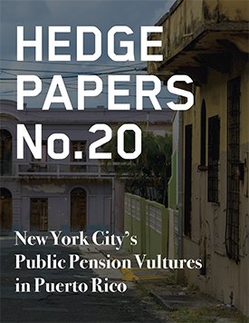 New York City's Public Pension Vultures in Puerto Rico