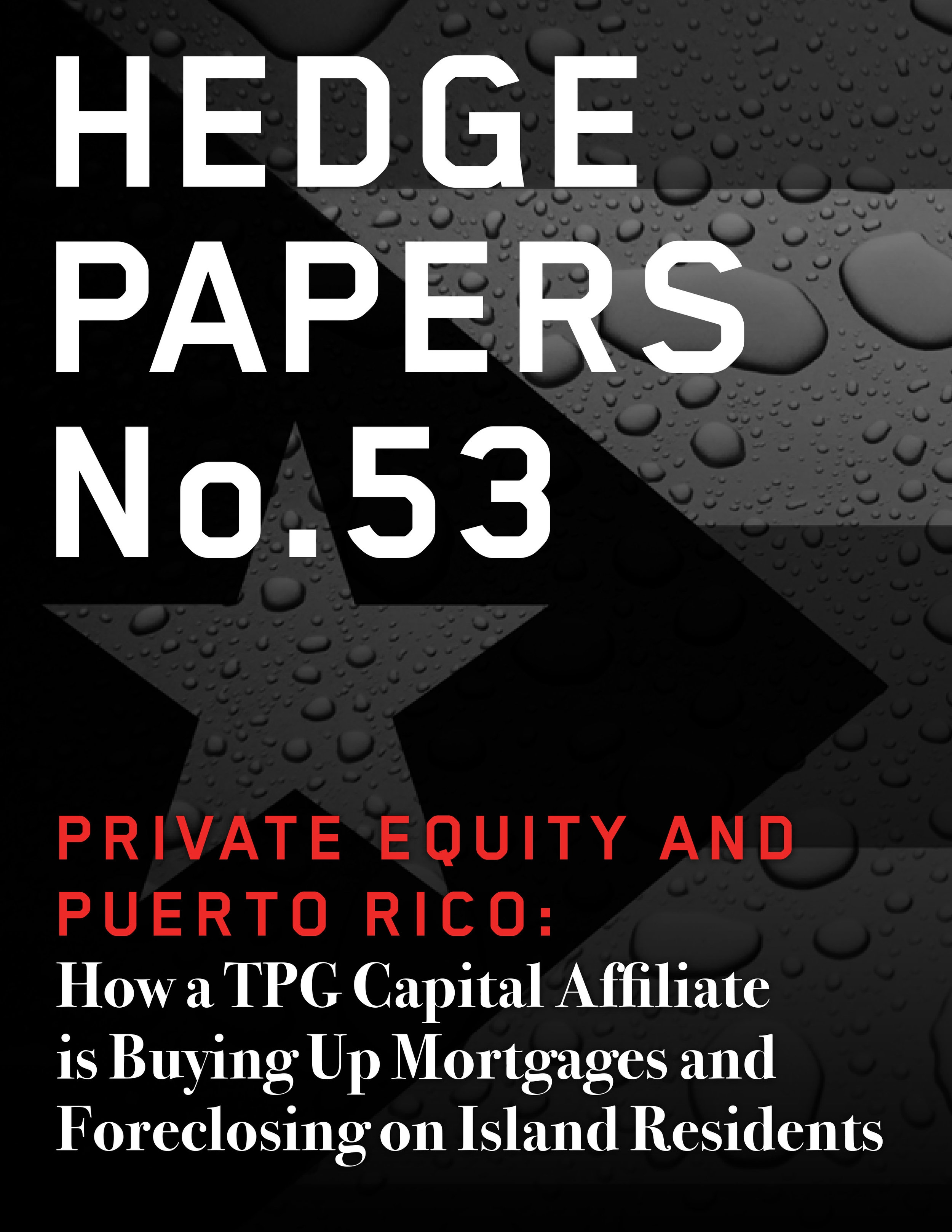 Private Equity and Puerto Rico