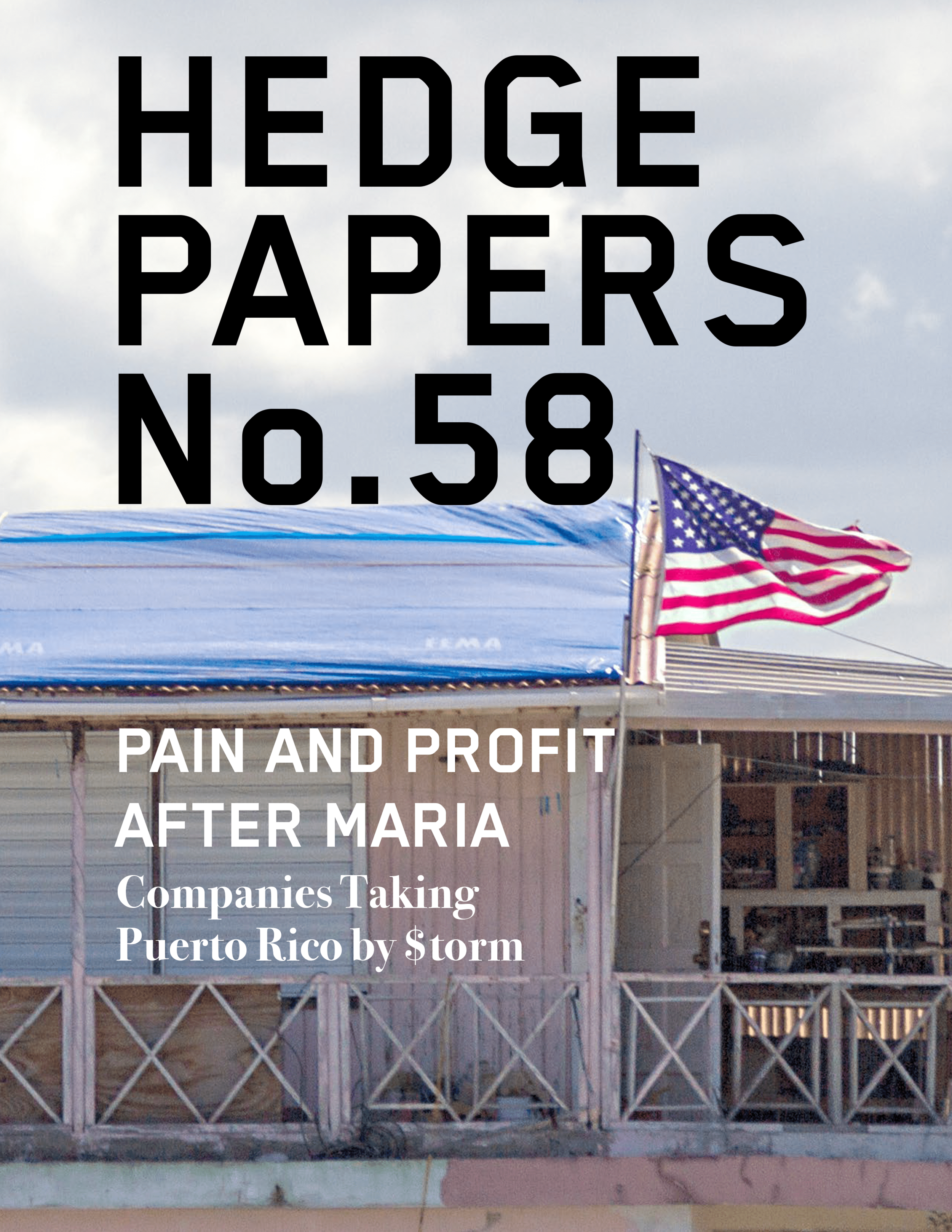 Pain and Profit After Maria