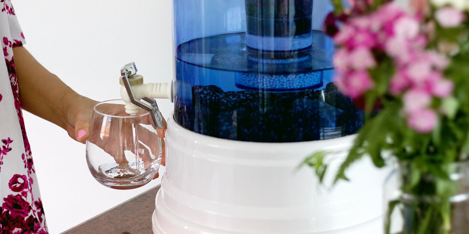 Zazen Water Filter System available in Market Organics stores and online at HomeFresh Organics.com.au