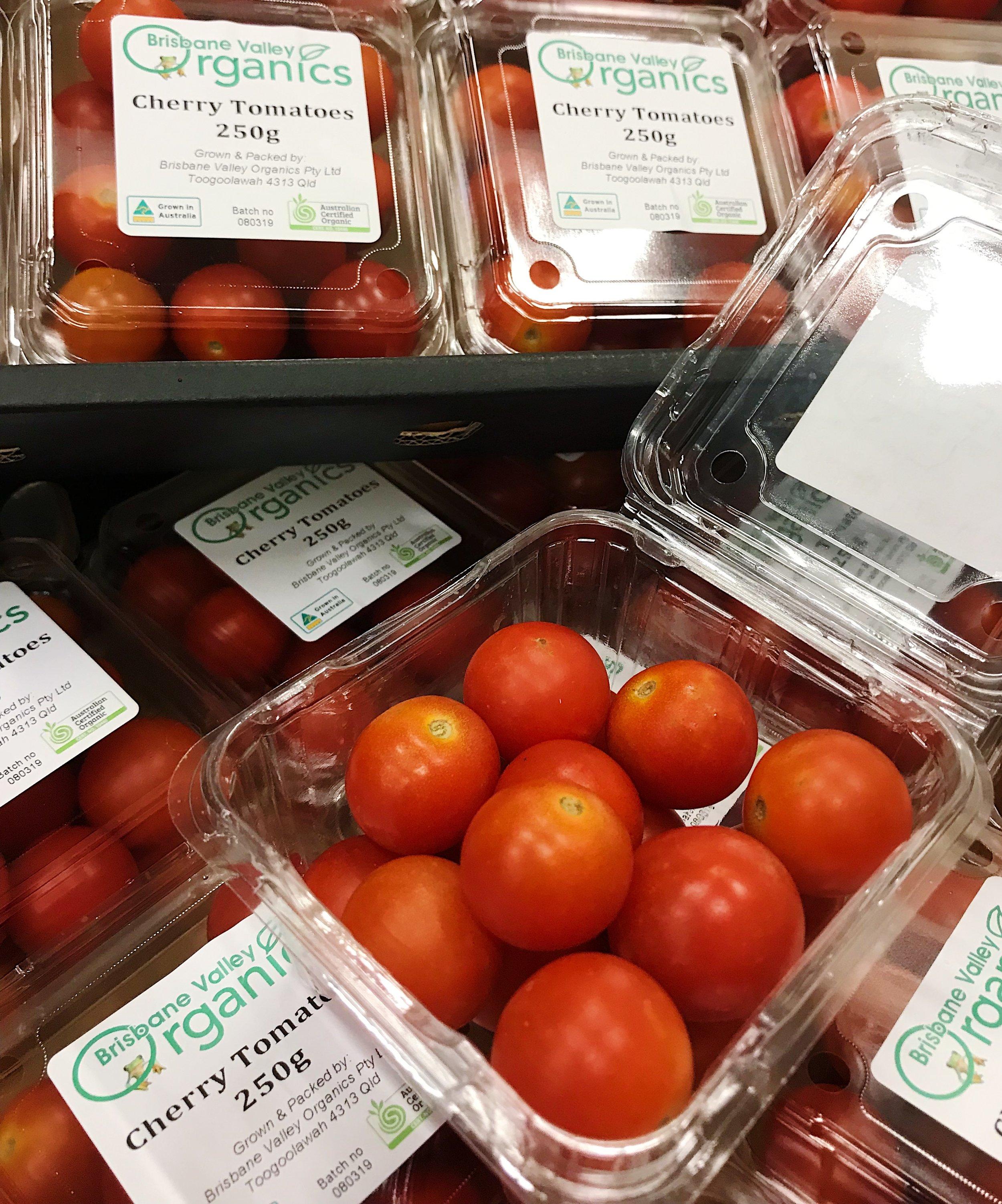 Brisbane Valley Organic Cherry Tomatoes