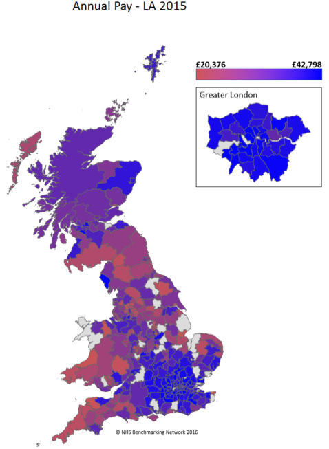 Map of Annual Pay