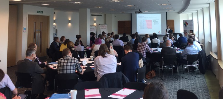 """Midlands & East Regional Event, 10th May 2018  """"As a benchmarking novice I now feel I have a good overview understanding of how it could benefit my service analysis and delivery."""""""