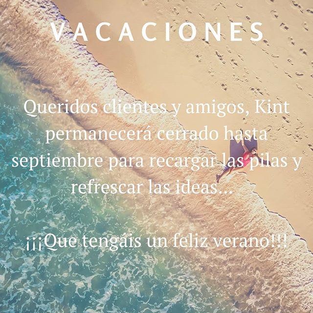 Feliz verano a todos!!! Nos vemos en septiembre 😉😊