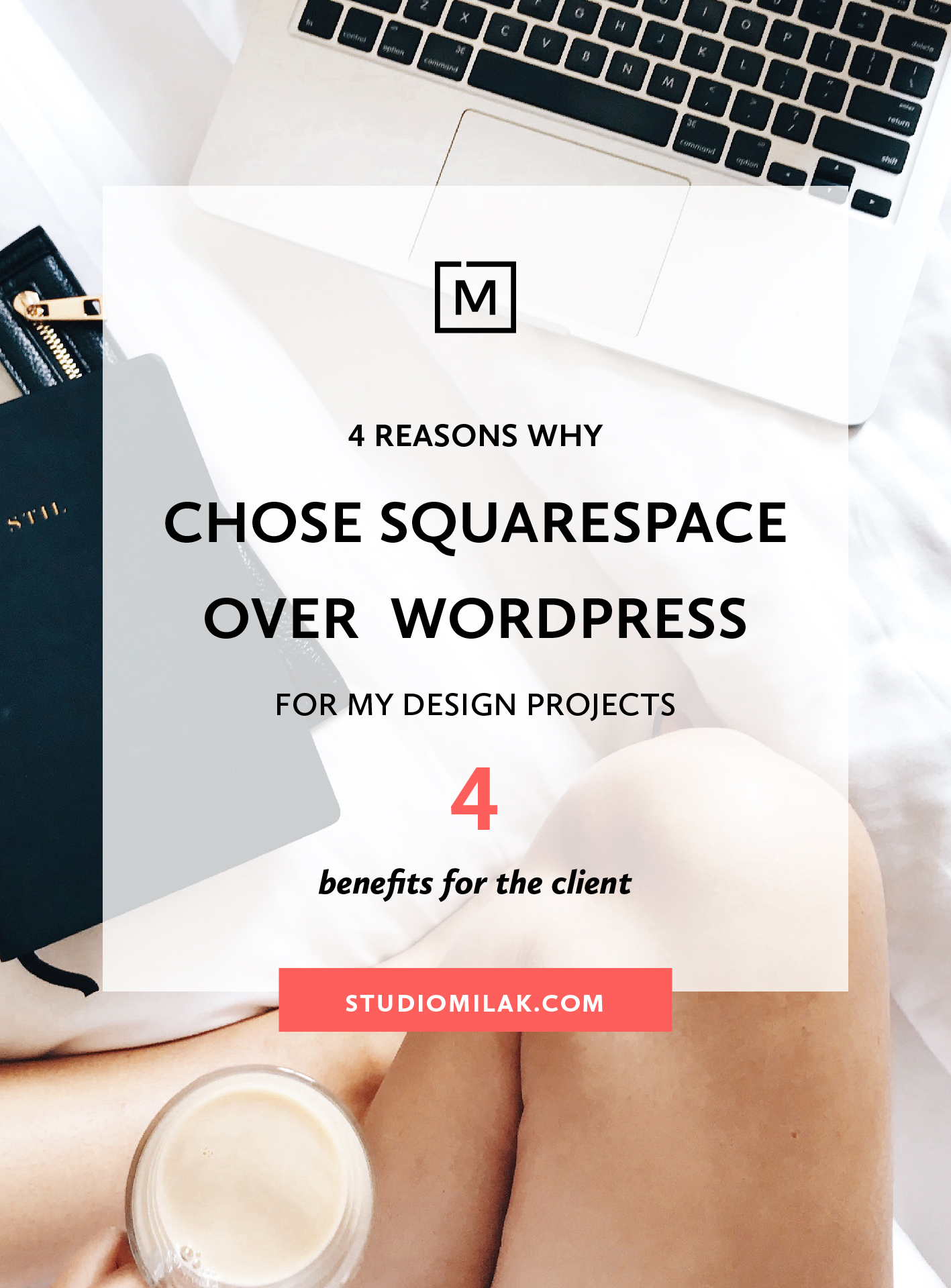4 reasons why I choose Squarespace over Wordpress for my web design projects