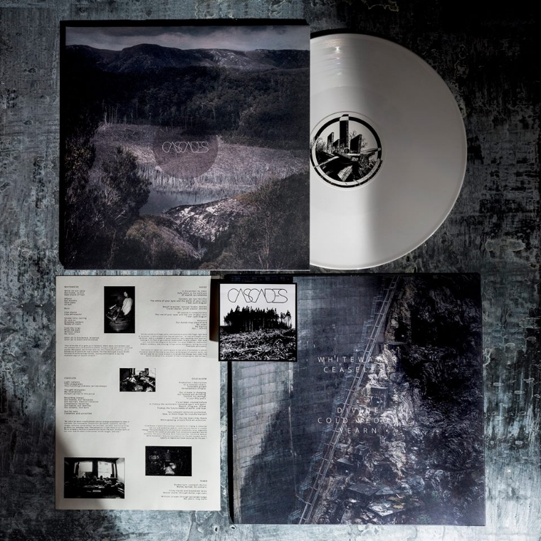 """Our debut self-titled LP is OUT NOW.  Recorded and mixed late 2016 by Joel Taylor at  The Black Lodge , Melbourne, and mastered by Brad Boatright at  AUDIOSIEGE . Front and rear jacket photography c/o the wonderful  Phoebe Powell Photography .  LPs pressed at  Disc Manufacturing Services - DMS  in the UK. The LP features an opaque white 140gm 12"""" vinyl, matte jacket with black fill inside, insert sheet, and two bonus stickers.  """"The perfect mix of haunting atmospheres, devastating heaviness and melancholic swathes.""""  -  Echoes And Dust   Order now and we'll have your order on the way to you within two business days.  Thank you to everyone who has supported us so far! You're the best.  Buy now ->  https://cascades-au.bandcamp.com/"""