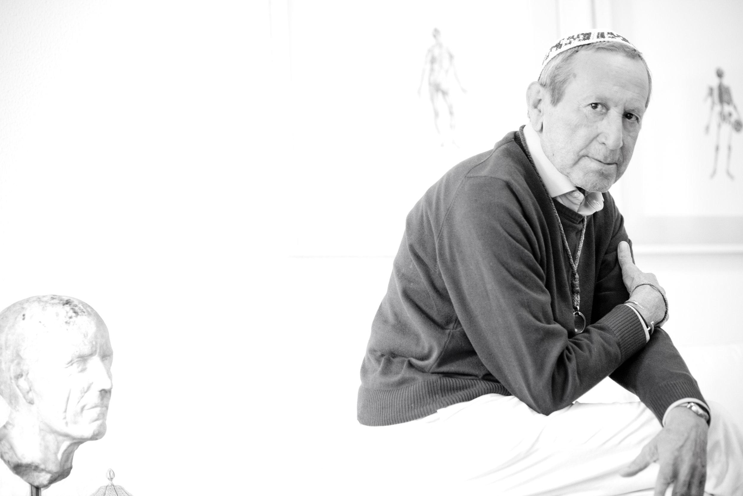 En fotografía: Elio Berhanyer. Fotografía por Julieta E. de Zulueta para Pasarela de Asfalto  ®
