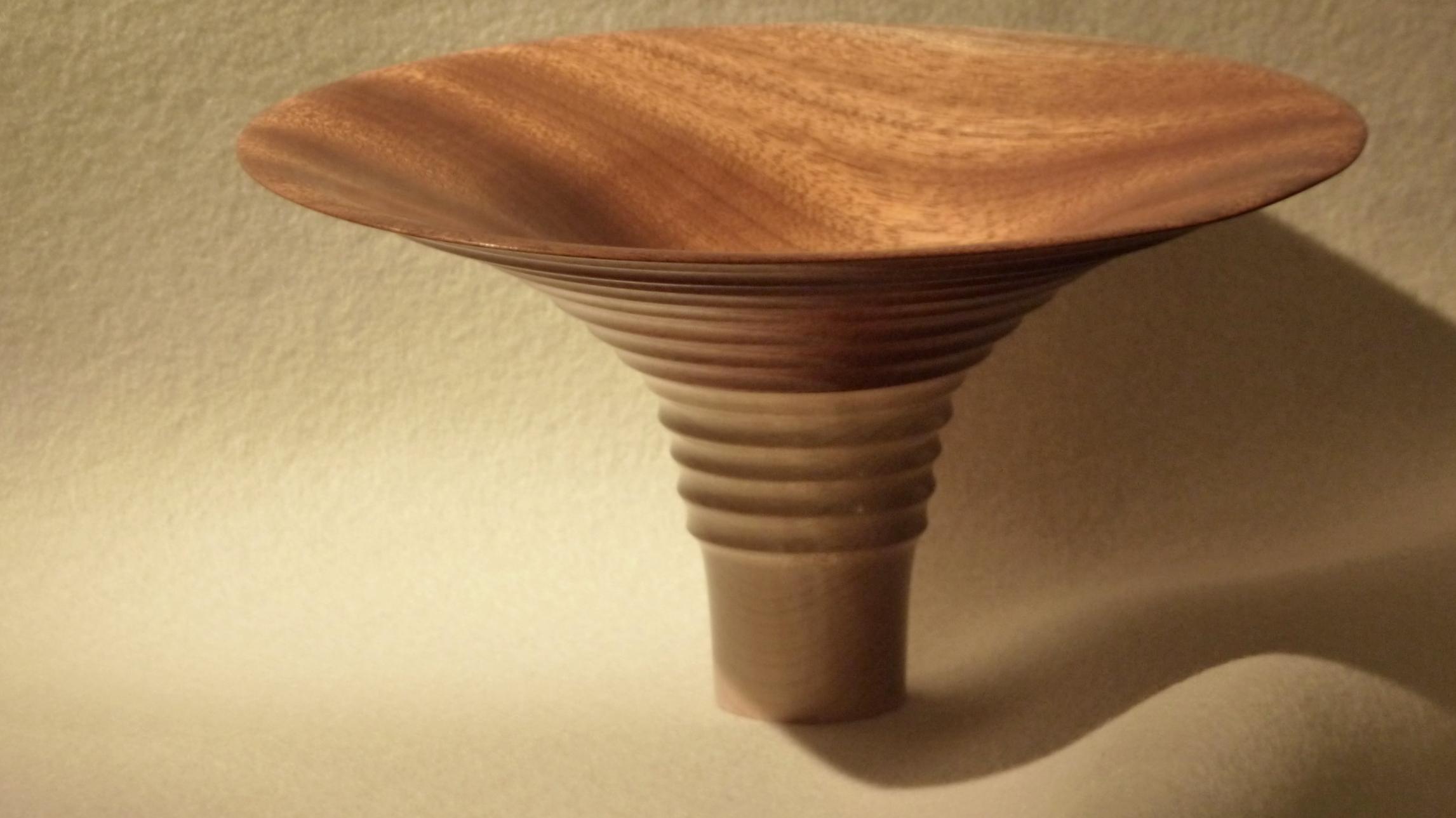 Santos mahogany and maple