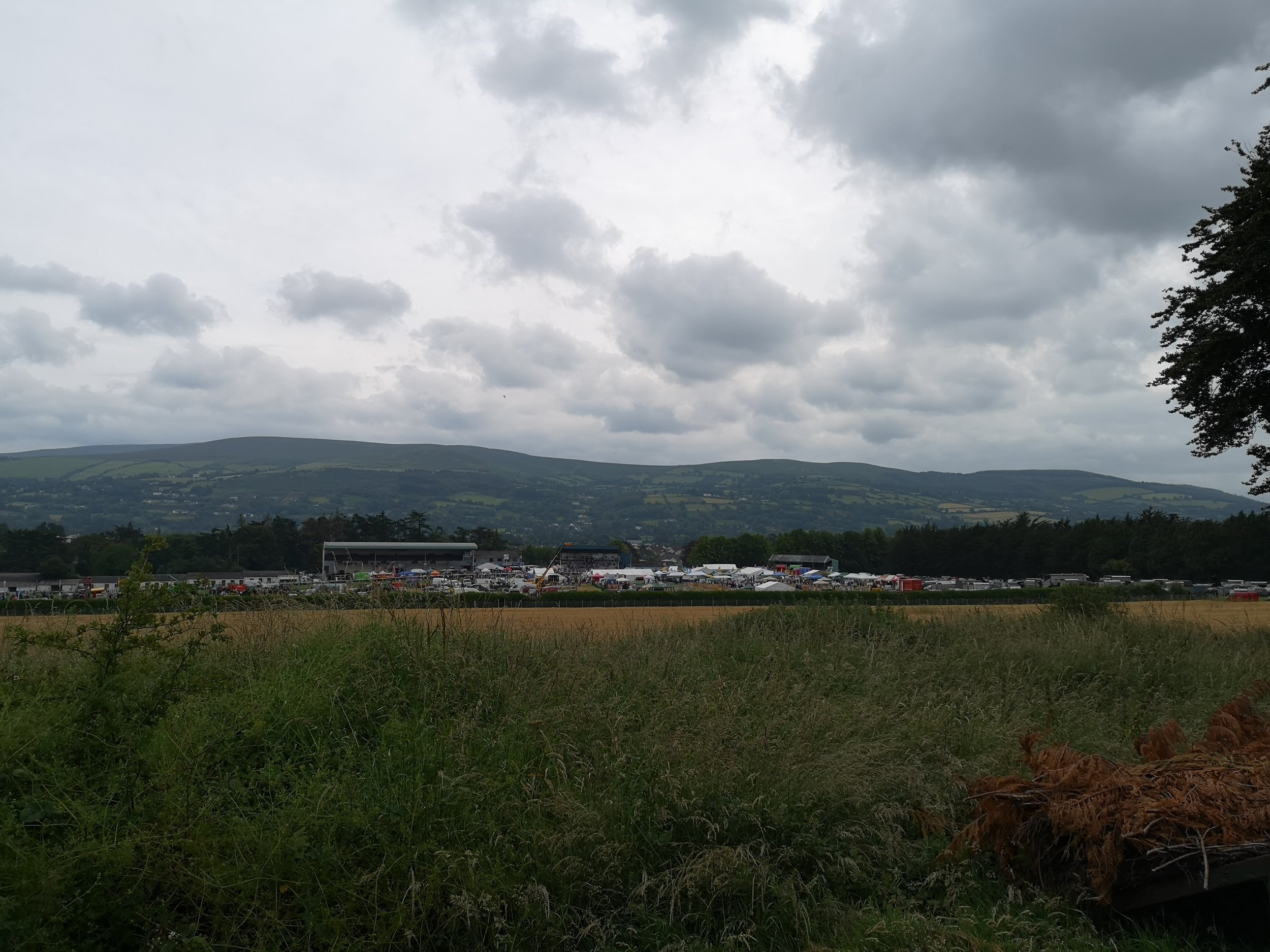 View from the top of Clonmel Racecourse.