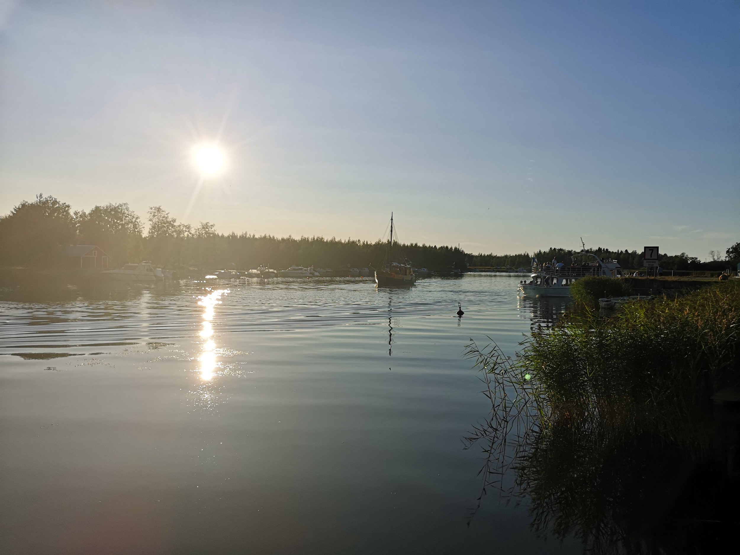 Finnish summer night.