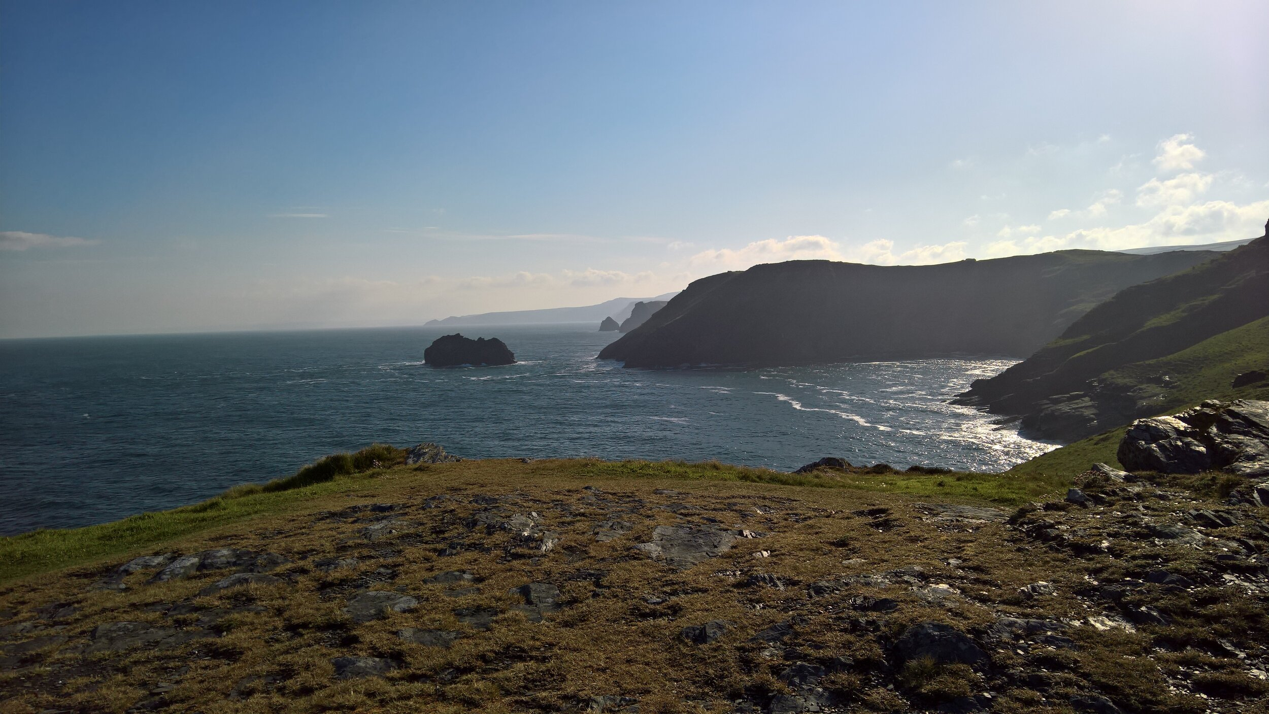 Views from Tintagel, Cornwall.