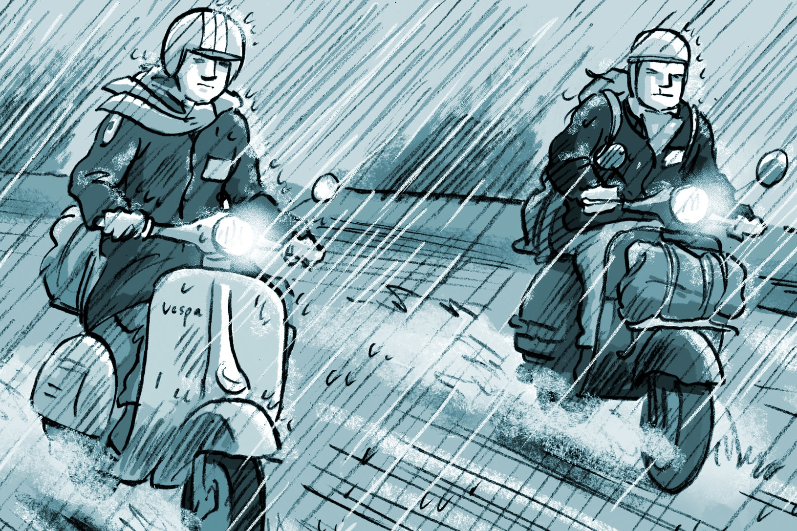 Keep the faith - Excerpt from my graphic novel