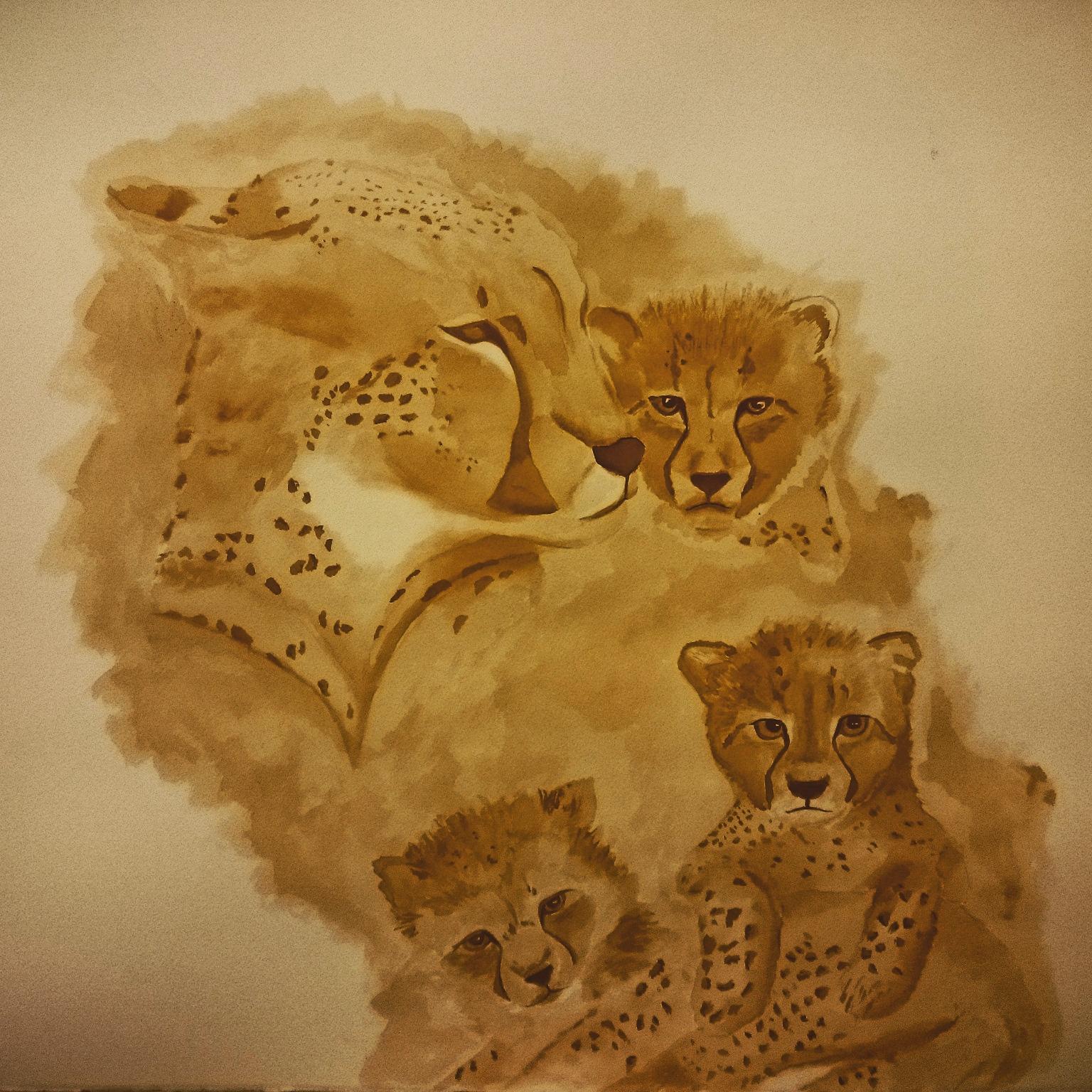 Cheetah Family (2015)