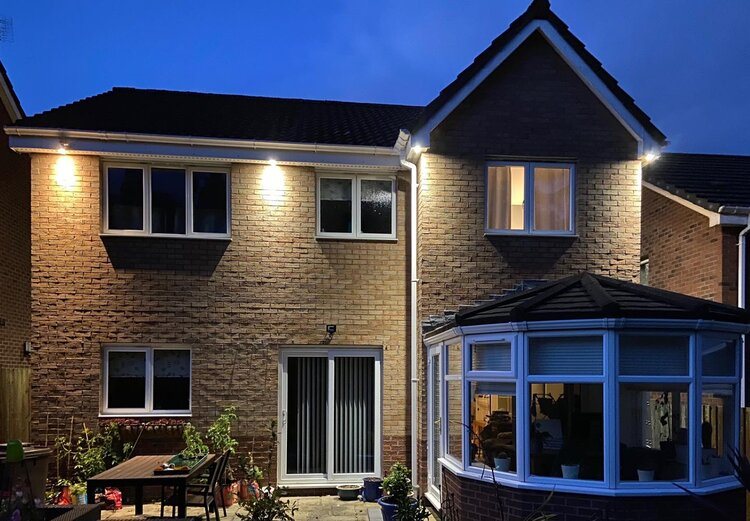 Exterior Lighting West Lothian, Outdoor Spot Lights For House