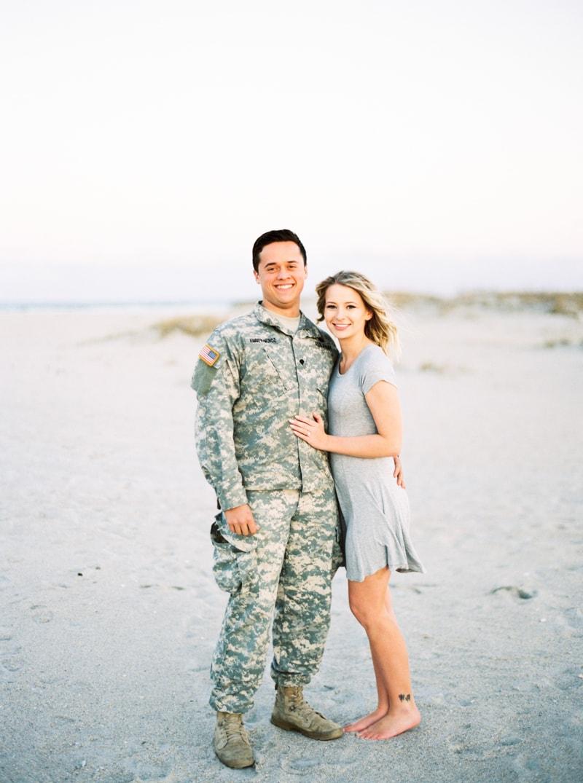 wrightsville beach nc engagagement photographers