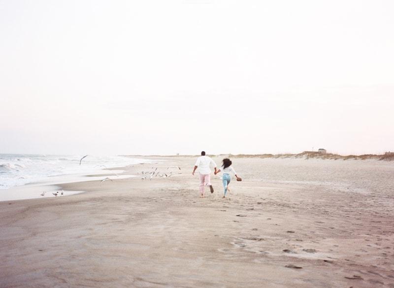 kure beach engagement photographers