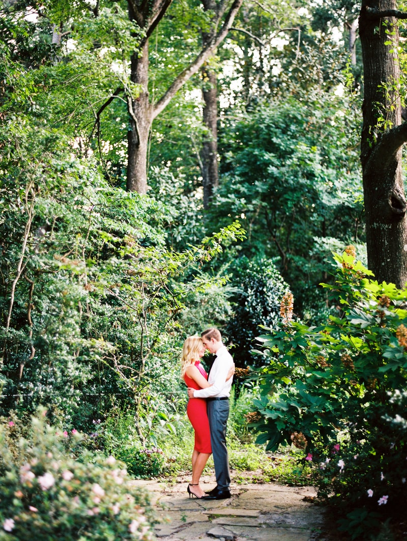 Arboretum Wilmington NC Engagement Photographers