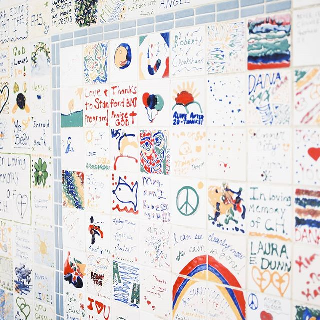 This cancer survivor & memory wall in Knoxville, TN, really stood out to us! We read some of the messages and thanked God we didn't have to face some of the battles many people on this wall have been through. #travelphotography #knoxvilletn #120film