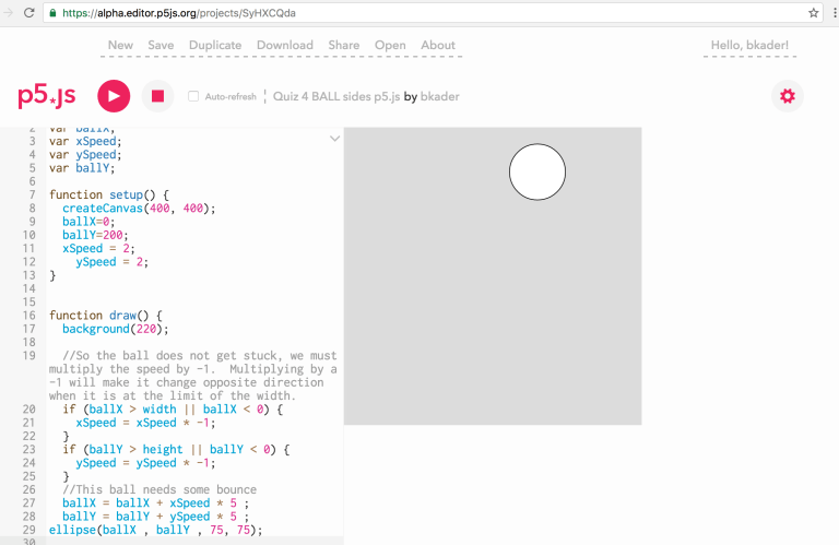 4 SIDE BOUNCE  https://alpha.editor.p5js.org/projects/SyHXCQda