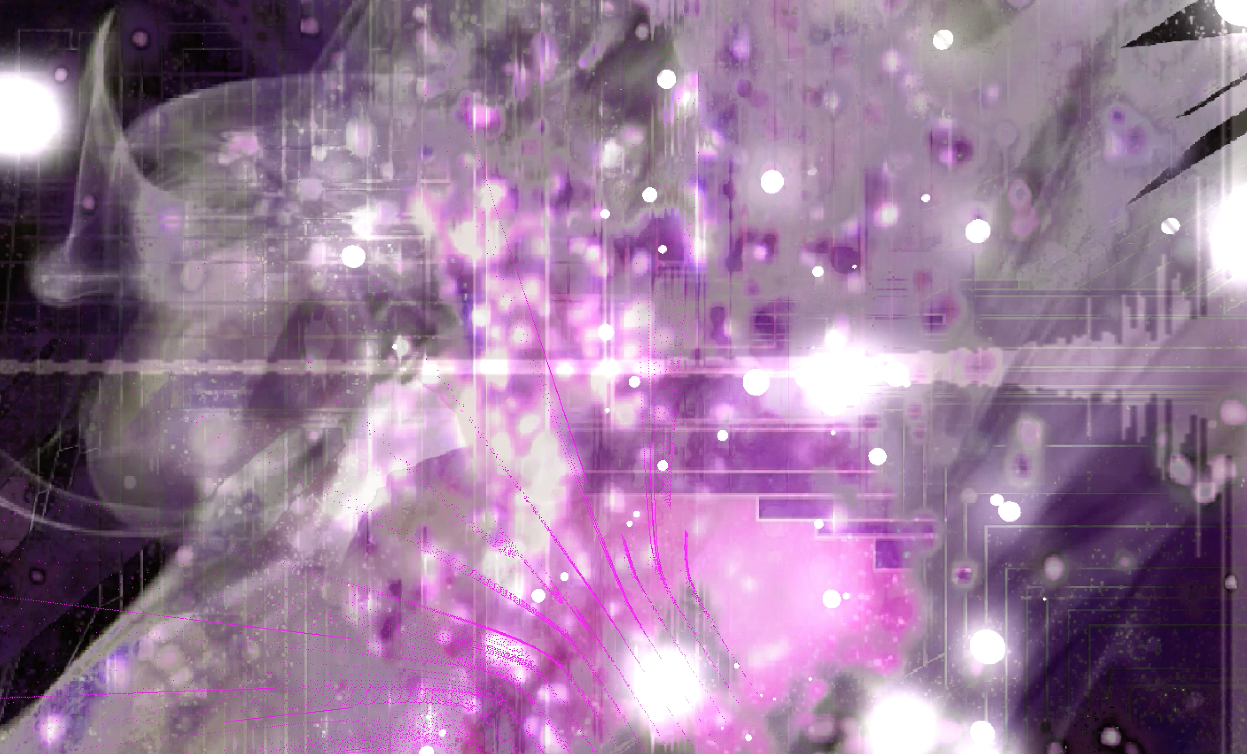 Visual Content Generated for Projection  Generated using Photoshop, p5.js, Final Cut Pro X, MAX/MSP/Jitter