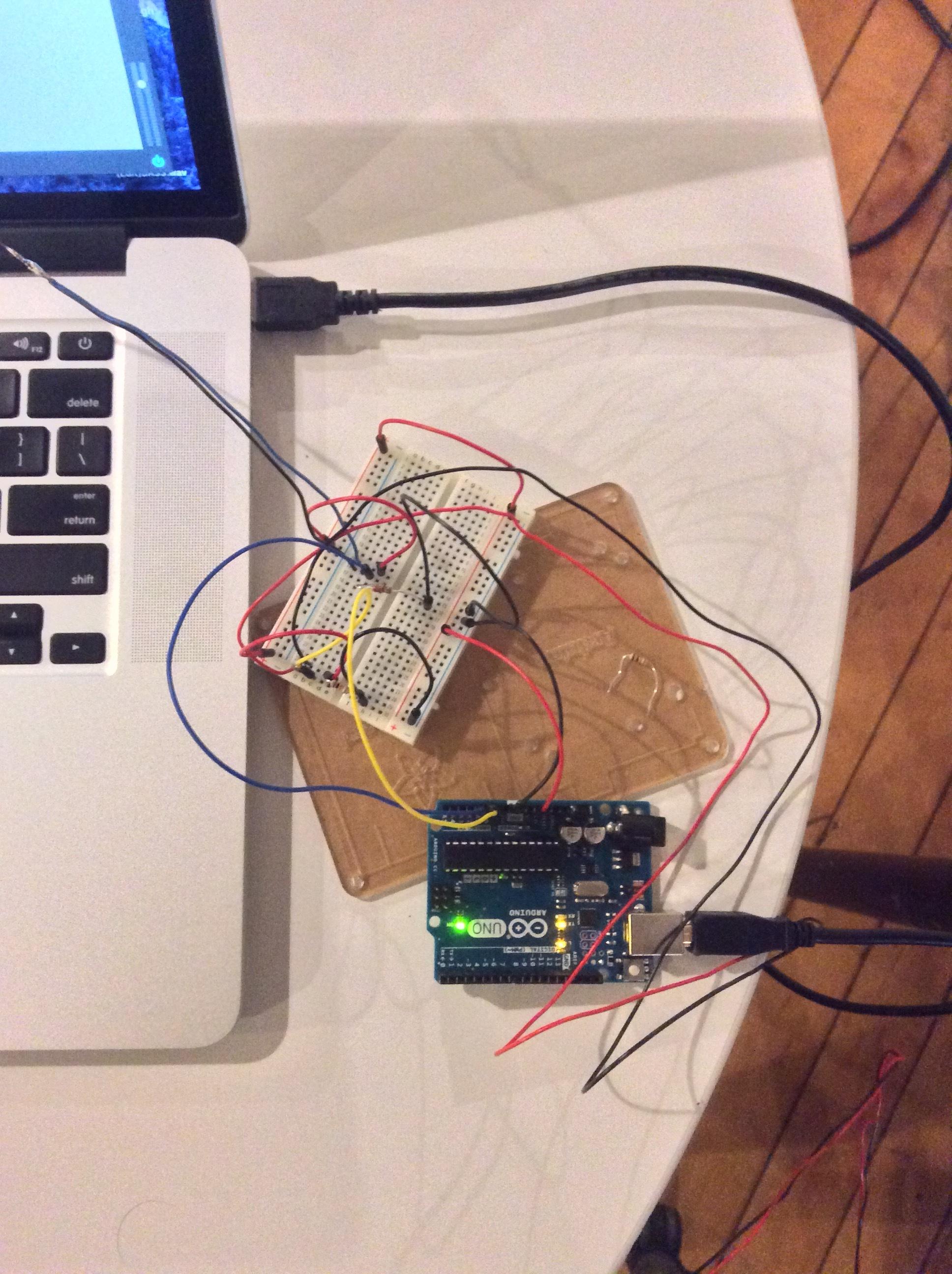 2ND Flex Sensor in Circuit