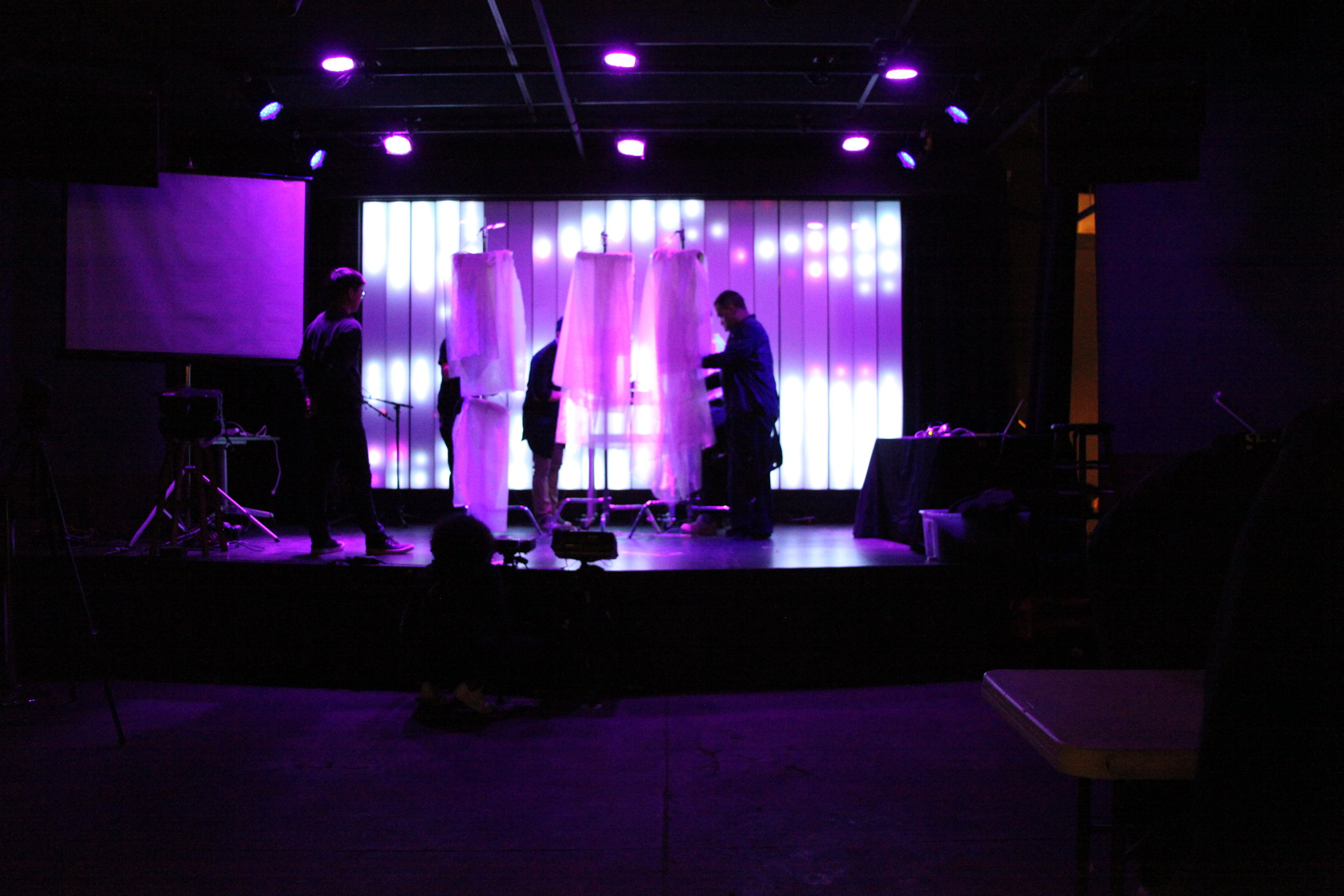 Setup, Soundcheck @ NIME