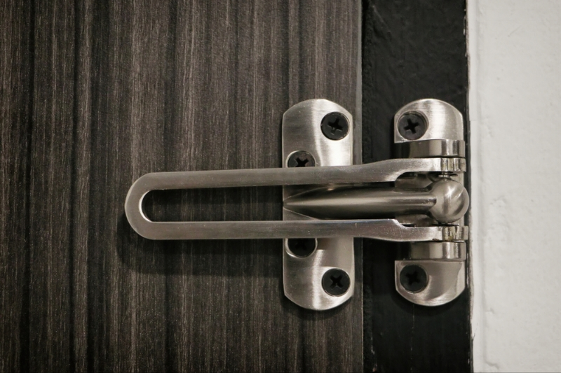 latchguard protecting door