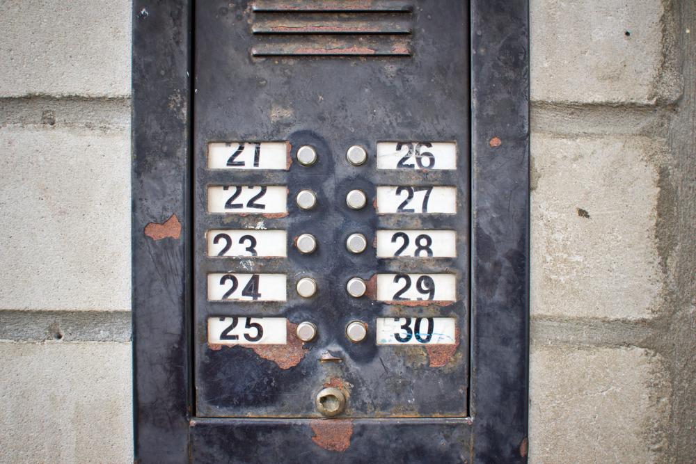 an old intercom system