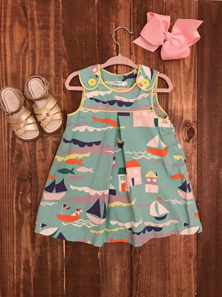 Dress Baby Boden, Salt Water Sandals