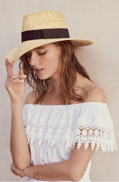 "Brixton ""Joanna"" Straw Hat at Nordstrom $44.00"