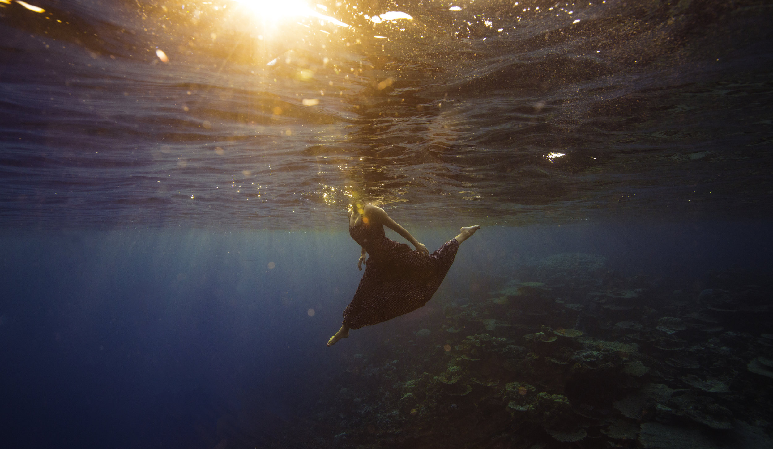 Underwater  Anup J Kat