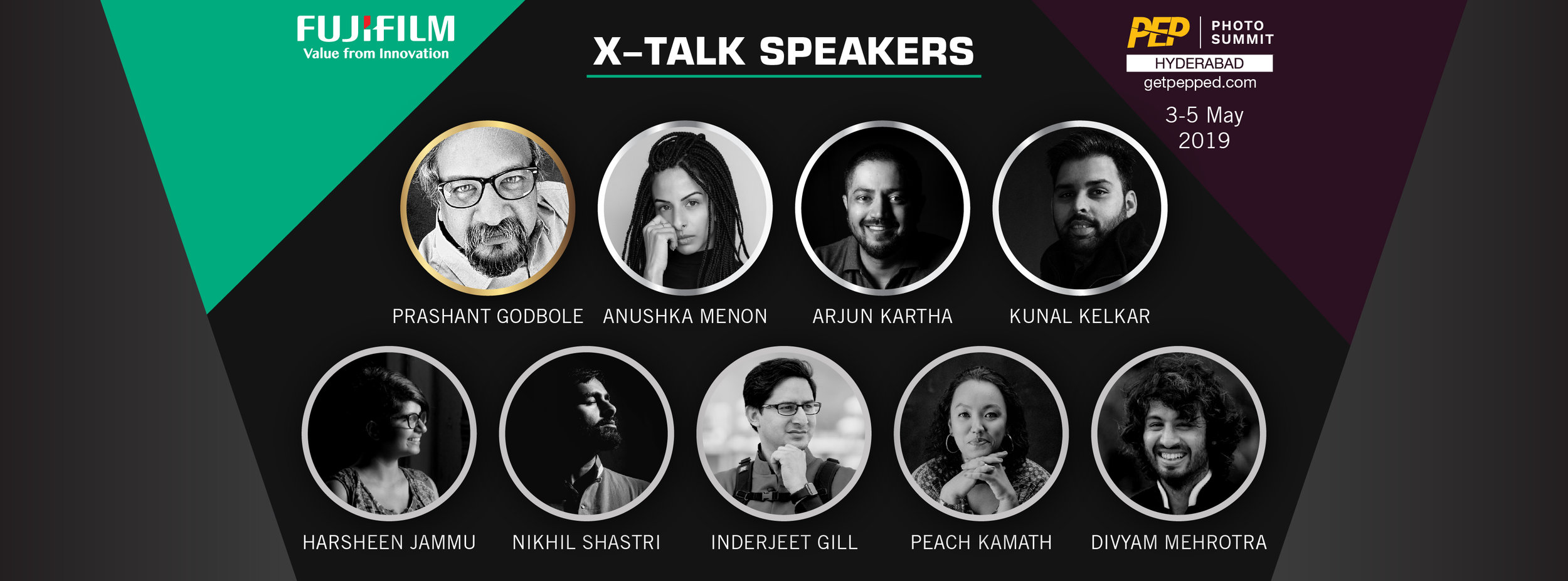 Fujifilm joins hands with PEP to bring sessions by these photographers to Photo Summit 2019
