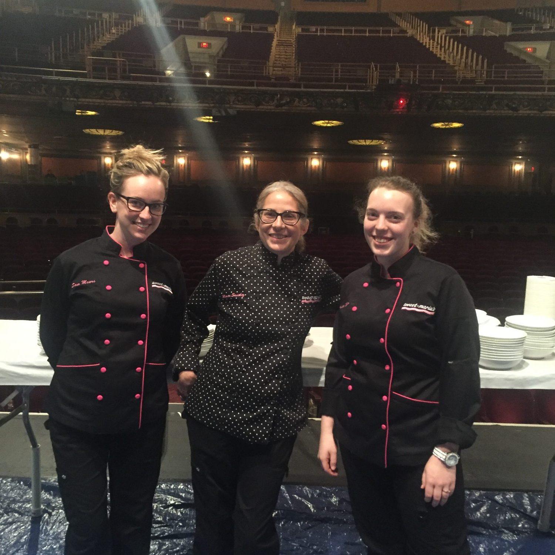 Chef Sam, Me and Chef Kristin