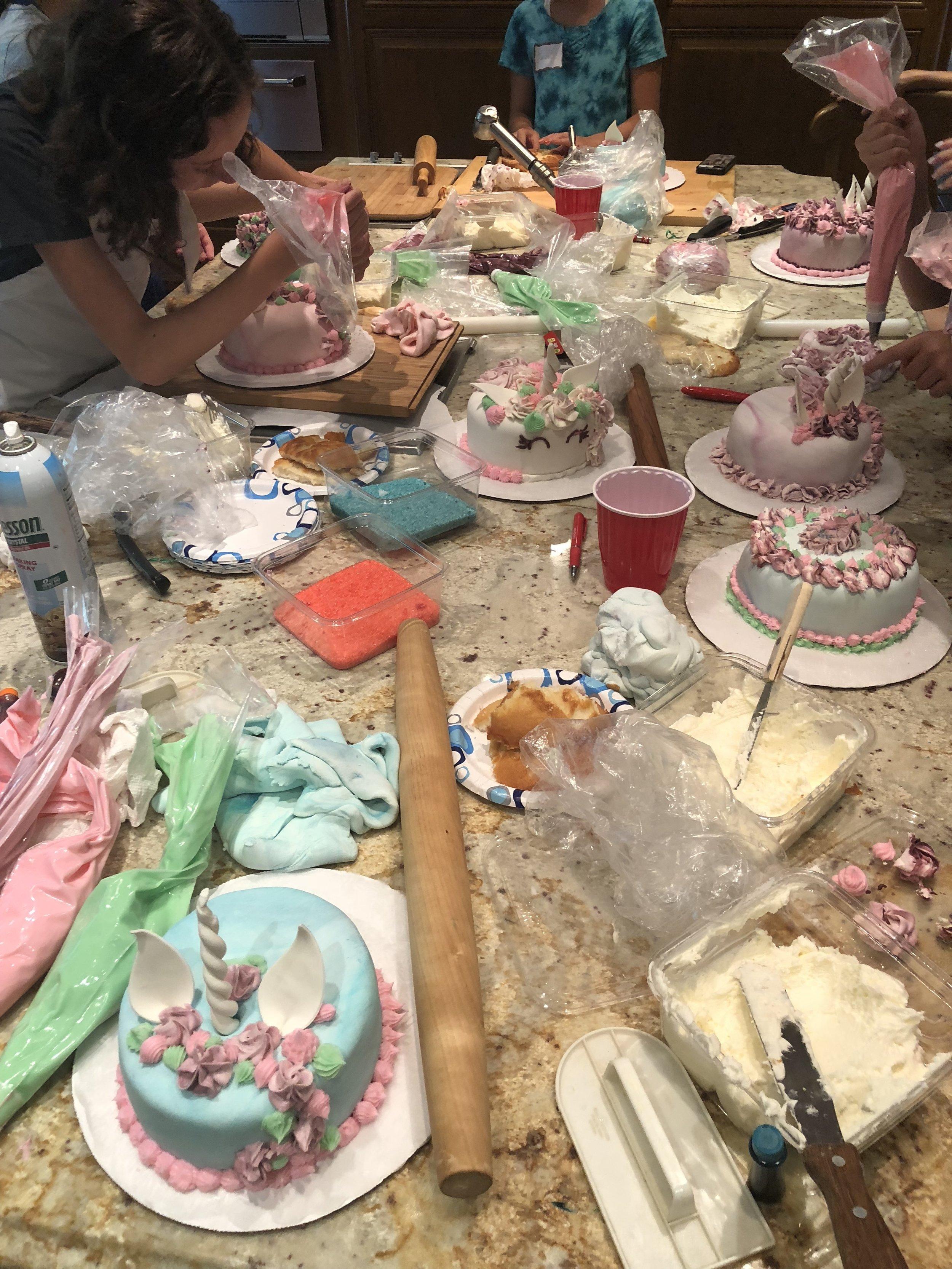 Unicorn Cake Mania!